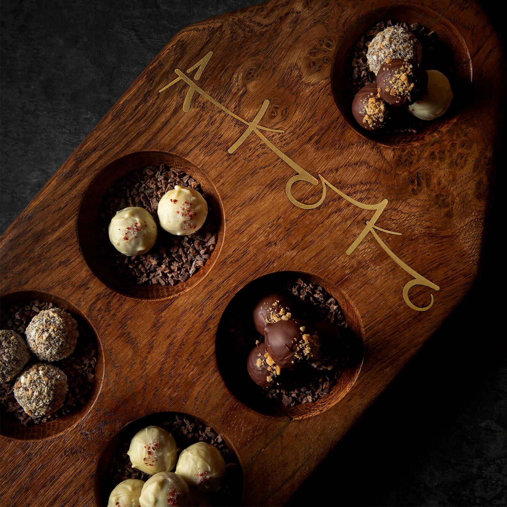 Akoko selection of desserts